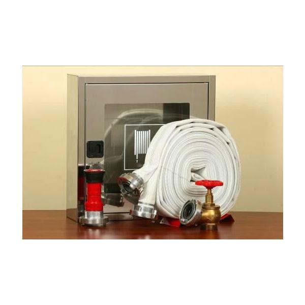 cutie hidrant 500 x 500 x 140 mm inox echipata