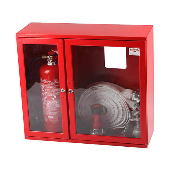 Cutie hidrant 650x735x250 cu locas pentru stingator